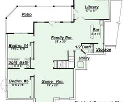 house plans with finished walkout basements 21 beautiful finished walkout basement floor plans homes plans