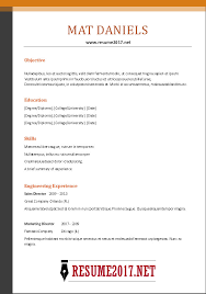 free combination resume template combination resume format 2017
