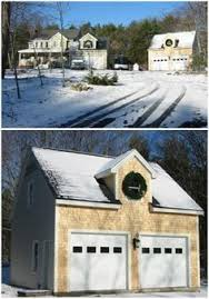 Pole Barns Rochester Ny The Applewood Pole Barn With A Custom Wood Shed Read More About