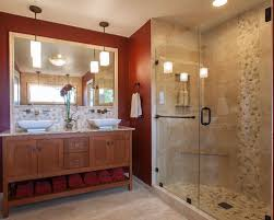 craftsman style bathroom ideas exle of a mid sized arts and crafts master bathroom design in