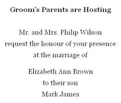 wedding invitation wording from and groom grooms parents hosting wedding invitation wording invitations online