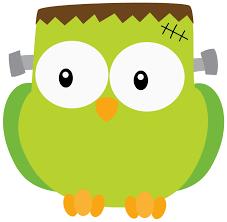 halloween frankenstein owl clip art clip art halloween 1