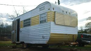 our new 1969 yellowstone trailer luxagraf writing