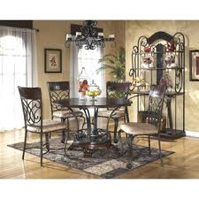 ashley dining room table discontinued ashley dining chairs sets room furniture paulmawer com