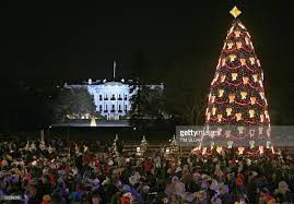 president and mrs bush attend national christmas tree lighting