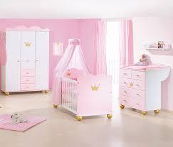 babyzimmer rosa kinderzimmer prinzessin karolin fichte massiv weiß rosa und gold