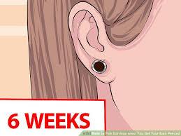 ear piercing earrings how to earrings when you get your ears pierced 12 steps