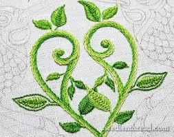 Fish Bone Stitch Embroidery Tutorials Embroidery Fix Foreshadowing Needlenthread