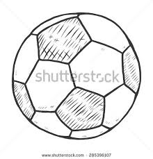 football sketch stock images royalty free images u0026 vectors