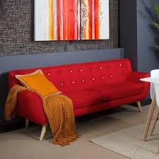 Red Sofa Set Png Jellybean 3 Seater Lounge Furniture Fabric Lounges By Dezign