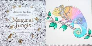 magical jungle colouring midst madness