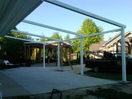 Pergola Awning Retractable by Milanese Remodeling Installs Tv Studio For Qvc Home Shopping Network