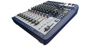 Home Studio Mixing Desk by Signature 10 Soundcraft Professional Audio Mixers