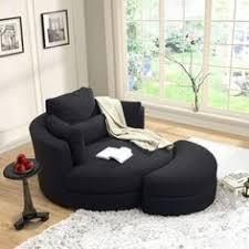 turner grey cuddler swivel chair with storage ottoman home