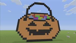 pumpkin pixel art for halloween youtube