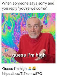Memes Sorry - 25 best memes about im high im high memes