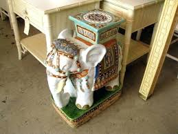 elephant end tables ceramic elephant end table sgmun club