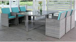chaise tress e table chaise salon chaise exterieur 6 places pour ce salon de jardin