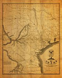Map Austin Texas texas 1830 stephen f austin u0027s first printed map battlemaps us