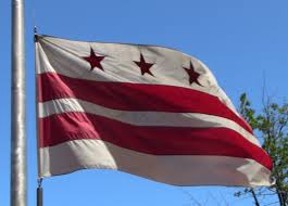 Washington Dc Flag Symbols Of Washington D C State Symbols Usa