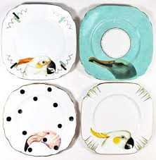 upcycling dinner plates and china insteading