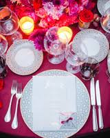 Wedding Table Setting 18 Creative Ways To Set Your Reception Tables Martha Stewart