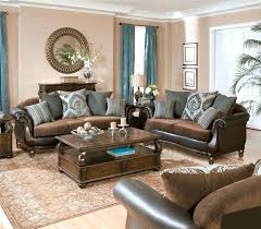 brown and blue home decor dark brown living room wow brown leather furniture living room decor