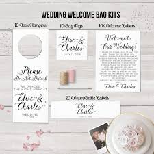 welcome wedding bags 314 best oot bags out of town guest bags images on