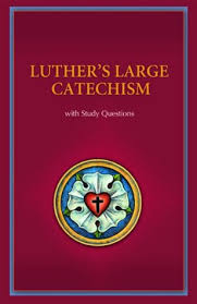 luther s luther s large catechism with study questions by paul timothy mccain