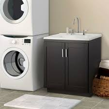 Laundry Room Sinks With Cabinet Laundry Sink Cabinet Black Randy Gregory Design Tips For