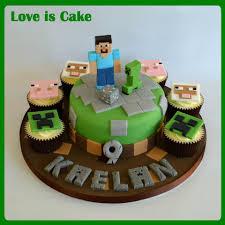 3 impressive minecraft cakes