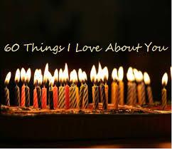 60 things for 60th birthday happy 60th birthday allison clapp