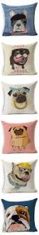 pug home decor animal french bulldog sofa cushion pug dog home decor office chair