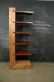 Timber Bookshelf Counterlevered Jarrah Birdseye Messmate Bookshelf Christian