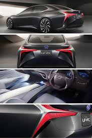 lexus lf fc fuel cell the lexus lf fc revealed in tokyo carhoots