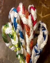 fasting cord handfasting cord fasting cord ritual magical colors and