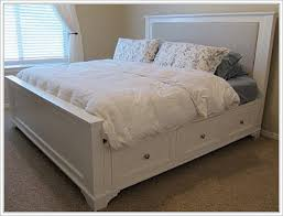 Easy To Build Platform Bed With Storage by King Size Platform Bed With Storage Storage Decorations