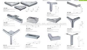 in sofa legs polishing furniture parts sofa use stainless steel pipe sofa legs