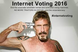 Voting Meme - internet voting 2016 another internet meme spotted john mcafee