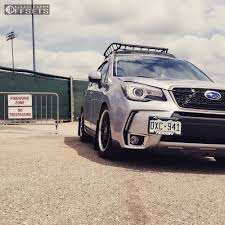 black subaru 2017 wheel offset 2017 subaru forester tucked coilovers