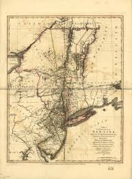 A Map Of New York by 1775 To 1779 Pennsylvania Maps