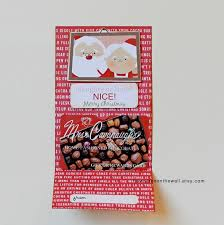 it u0027s written on the wall santa u0027s christmas gift card holder