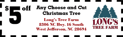 choose u0026 cut north carolina christmas trees long u0027s tree farm