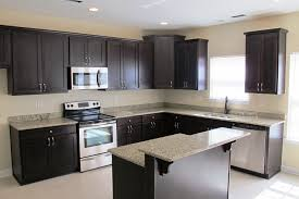 L Shaped Kitchen Island Ideas by Kitchen Style Kitchen Designs With Dark Cabinets Photo Album