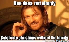 Family Christmas Meme - christmas without family by onbekendegta meme center