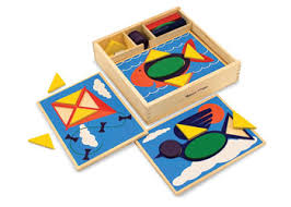 pattern play notebooks pattern blocks mathematics