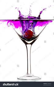 martini purple purple splash glass stock photo 30600040 shutterstock