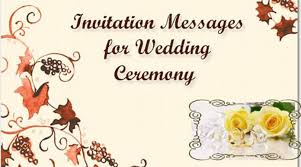 wedding invitations messages invitation message wedding ceremony jpg