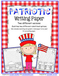 themed paper patriotic themed writing paper 4th of july memorial day veteran s