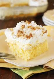 hawaiian coconut pineapple cake